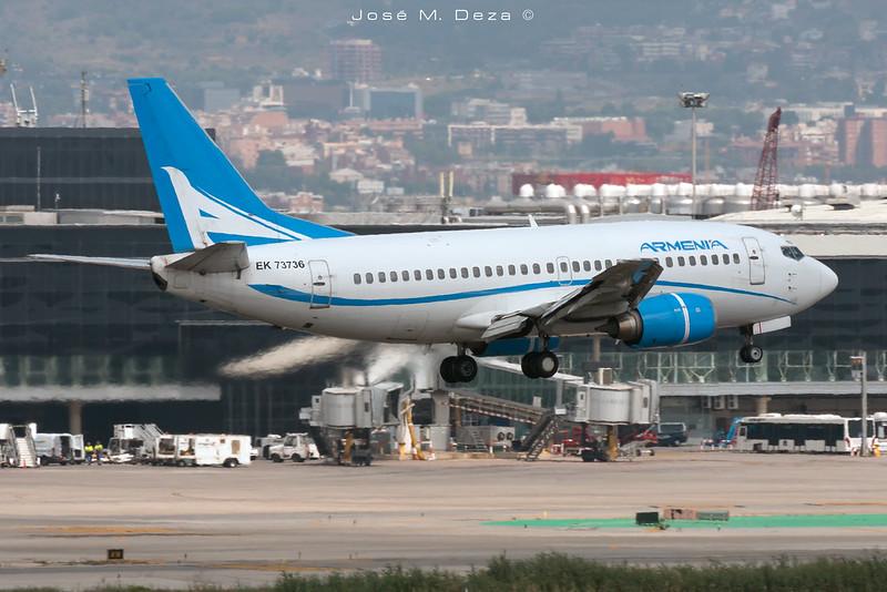 Aircompany Armenia B737-505 EK73736