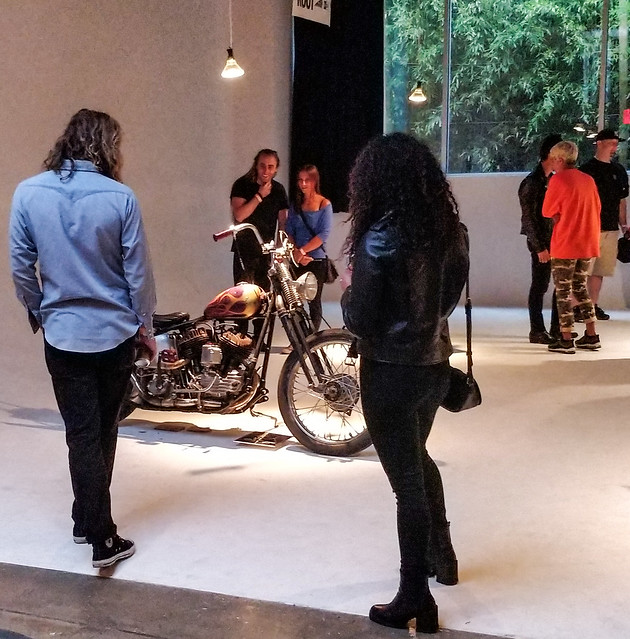 Invitational Custom Motorcycle Show in Williamsburg, Brooklyn, New York. 2018 Studio Root