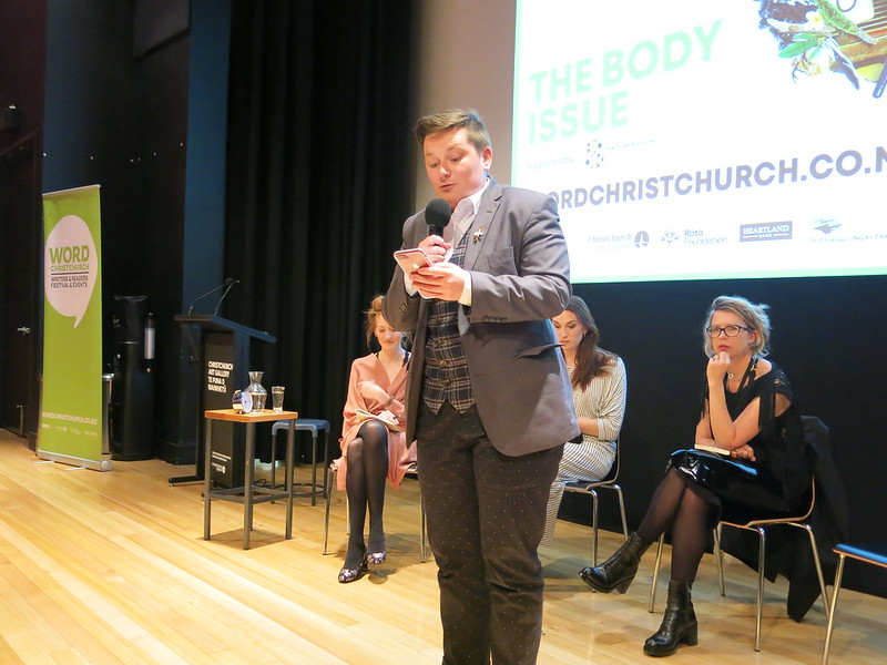 Ray Shipley at The Body Issue: WORD Christchurch Festival 2018