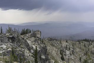 Ridge rain