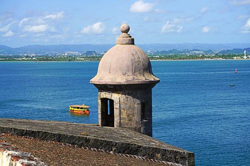 morro sanjuan puertorico caribbean
