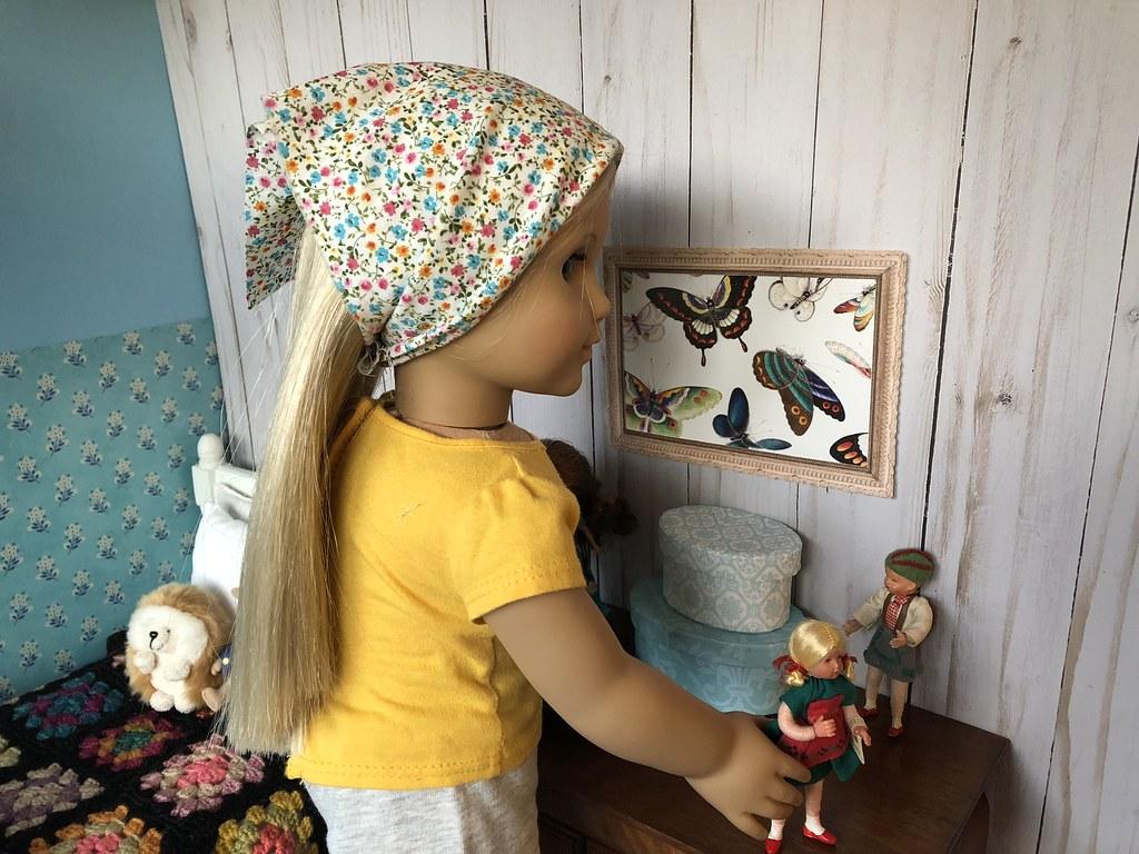 2 Arranging Her Dolls American Girl Julie Doll Ag Clothin Flickr