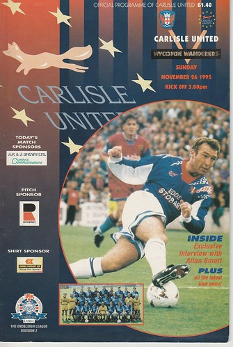 25.Carlisle V Wycombe 26-11-95 | by cumbriangroundhopper
