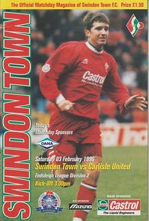 Swindon V Carlisle 3-2-96 | by cumbriangroundhopper