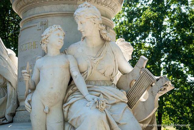 Goethe-Denkmal von Fritz Schaper (1880)