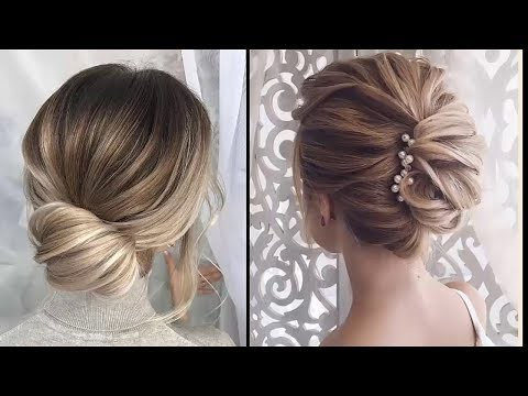 Easy Elegant Updos For Thin Hair Easy Prom Hairstyles Fo