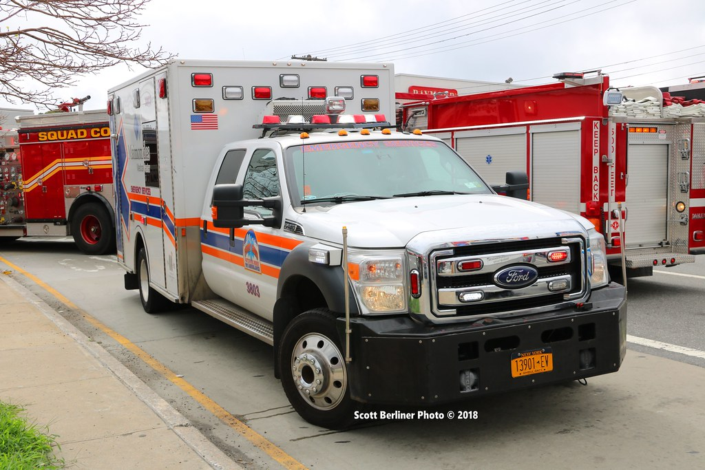 MAIMONIDES MEDICAL CENTER EMS AMBULANCE 3803 | Scott