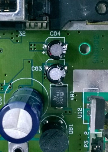 SNES faulty capacitor | by Deep Fried Brains