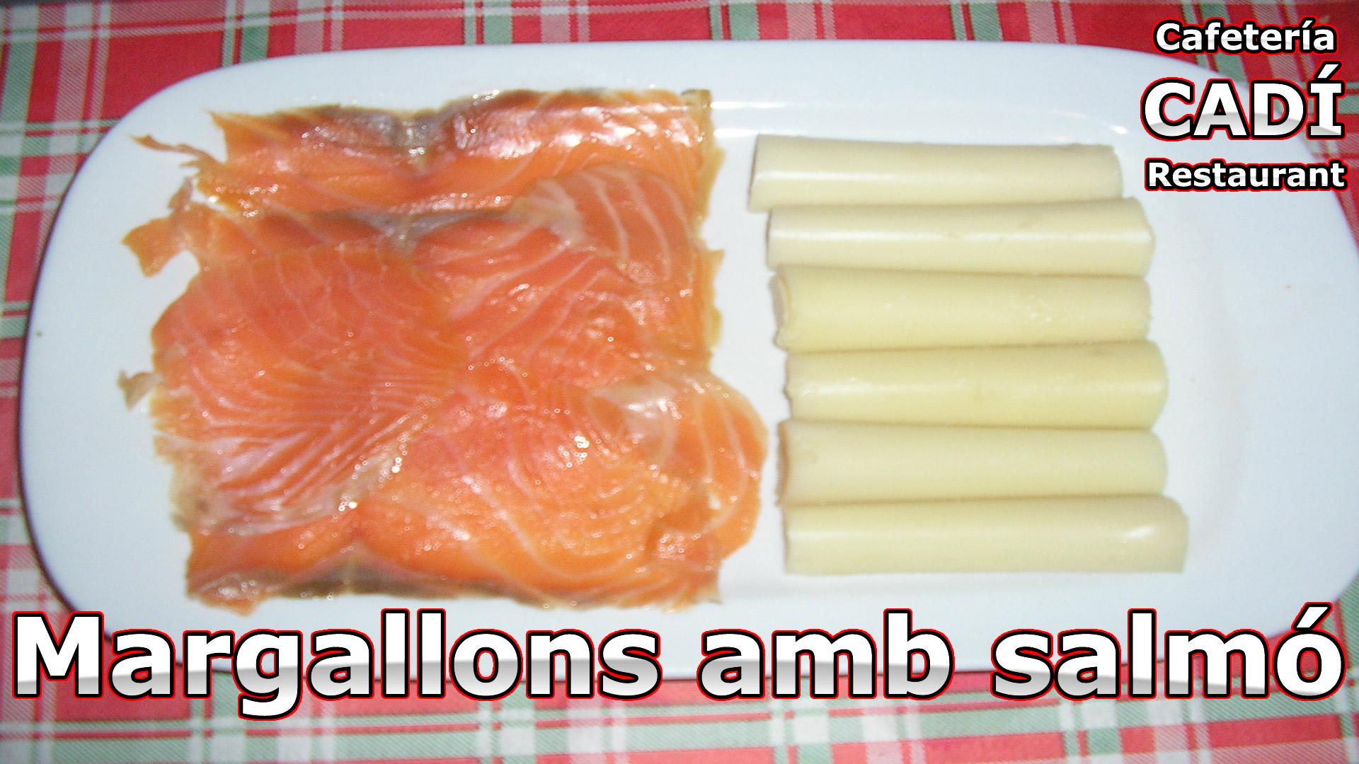 margallons amb salmó