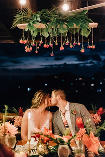 Floral Chandelier Kisses | by Perennial Weddings