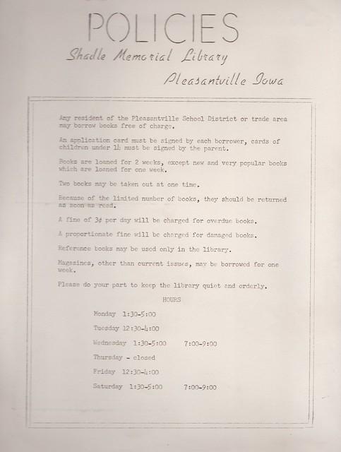 SCN_0029 Original Library Policies