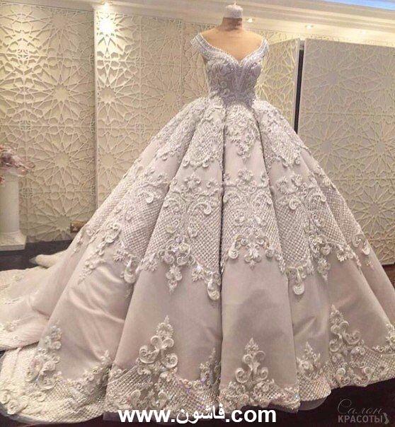 149d466d26bca ... فساتين زفاف فخمة جدا