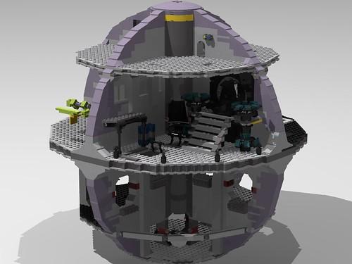 Death Star Modded Throne Room   by Enforcer Zer0