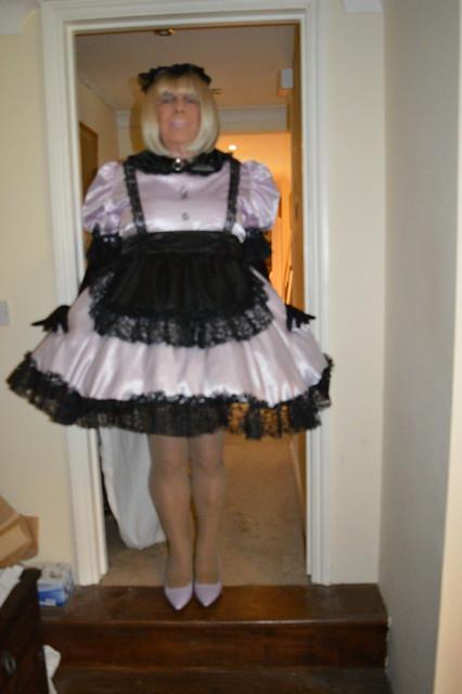 Pale lilac uniform 09