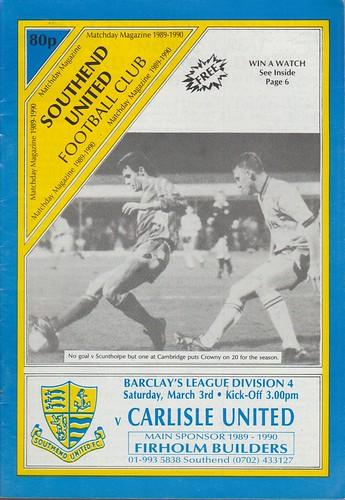 Southend V Carlisle United | by cumbriangroundhopper