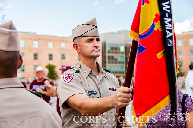 Texas A&M Corps of Cadets Gameday Northwestern State 2018