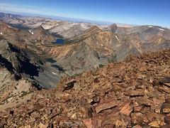 2018 8-25 - Virginia Lakes - Dunderberg Peak Climb - View North