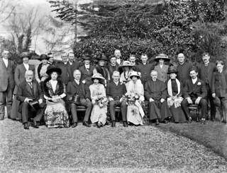 Mr. Cullinan MP, wedding group, large