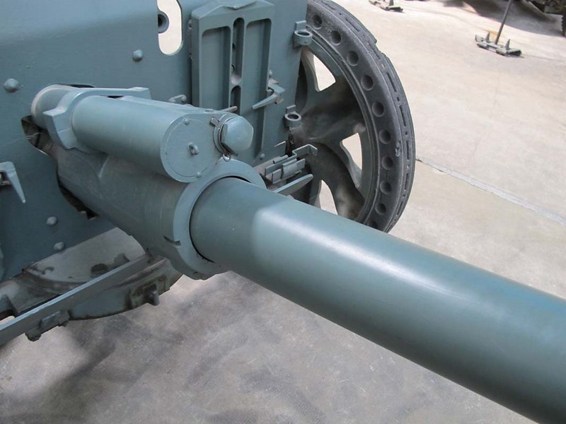 French 47mm SA37 Anti-Tank Gun 4