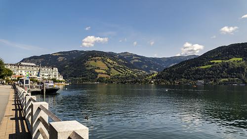 natur wasser österreich see tirol zellamsee berge