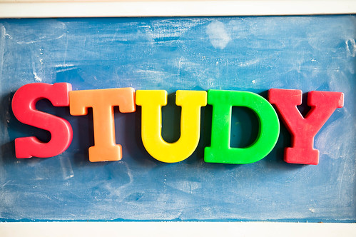 Color letters reading STUDY | by wuestenigel