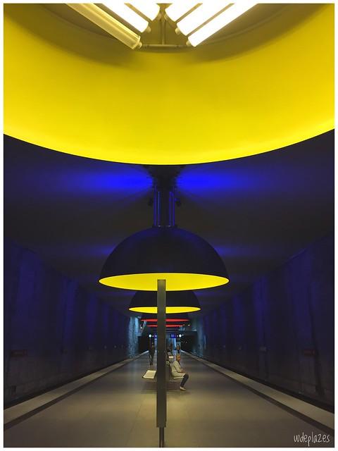 Munich - Westfriedhof yellow