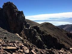 2018 8-25 - Virginia Lakes - Dunderberg Peak Climb - Castle Peak