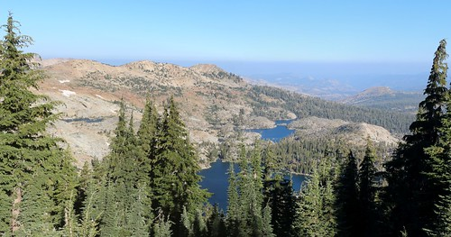 2255 Dicks Lake and Fontanillis Lake from the Pacific Crest Trail just north of Dicks Pass   by _JFR_