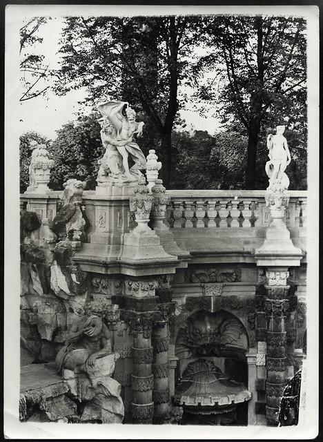 Archiv R1 Brunnen, Foto, 1950er