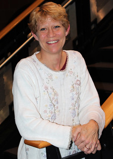 Thu, 12/05/2013 - 16:46 - A photograph of GCC's Associate Professor of Biology, Karen Huffman, Ph. D., courtesy of GCC