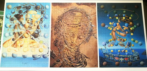 3x1000 Mondopuzzle - Salvador Dali triplet (2018-09-20) | by Puzzabell