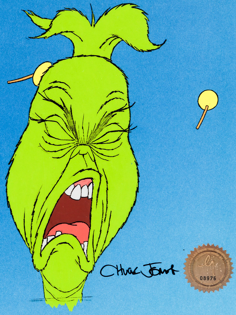 How The Grinch Stole Christmas 1966.Animation Cel From Dr Seuss How The Grinch Stole Christm