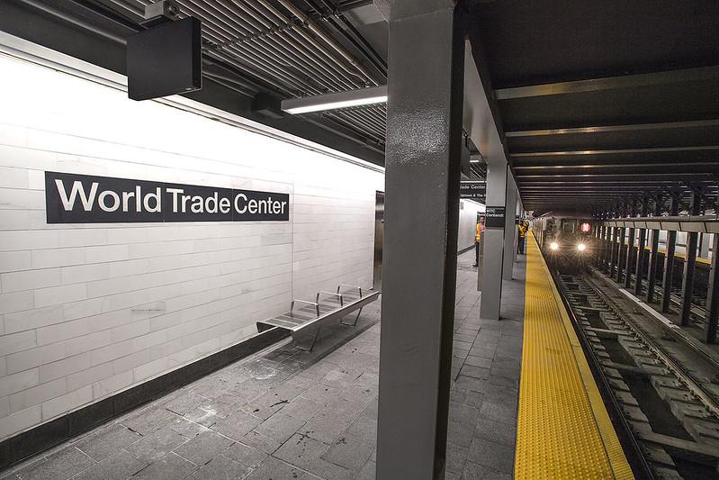 New WTC Cortlandt 1 Station