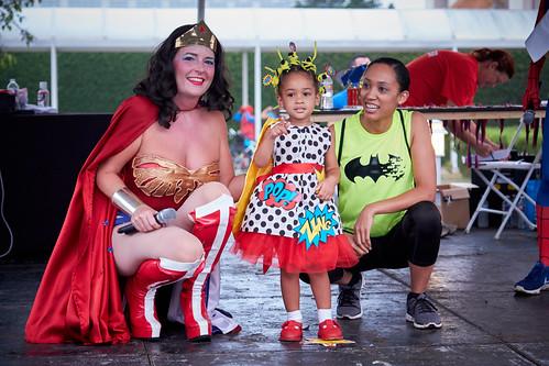 INVENTED SUPER GIRL: COMIC POP ART SUPER GIRL, JAZLYN SKINNER | by CASA of Travis County