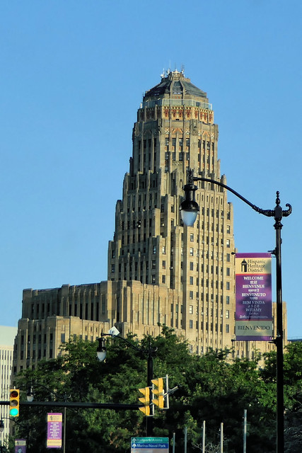 Hotel de ville Buffalo NY USA