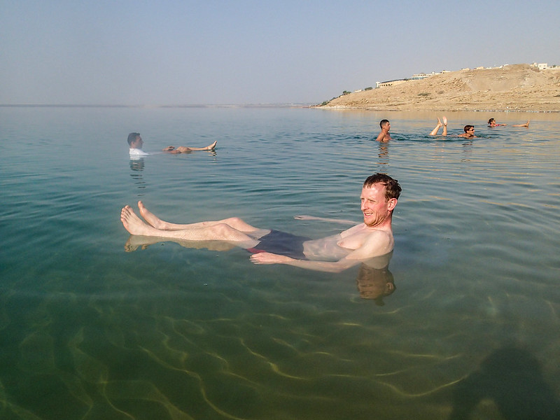 08 - Floating in Dead Sea