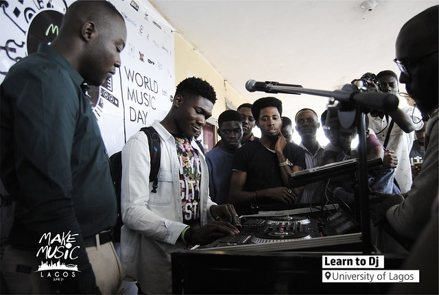 Make Music Lagos 2018 - Learn To DJ