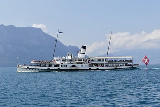 Dampfschiff Ds Stadt Luzern Paddle Steam Boat On Lake Luce Flickr