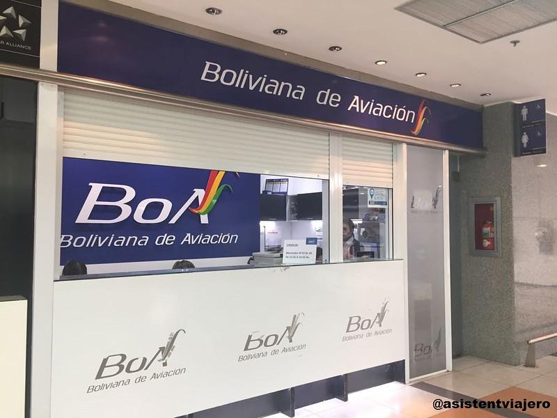 Boliviana de Aviación 1