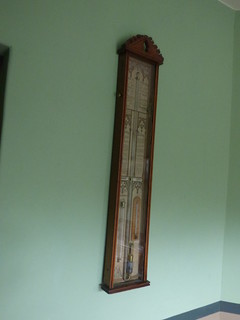 Toll House - Conwy Suspension Bridge - Toll Collecting Room - thermometer
