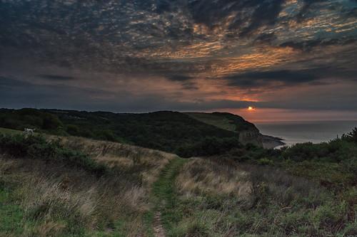 hastingscountrypark easthill ecclesbourneglen sunrise sunup sky landscape