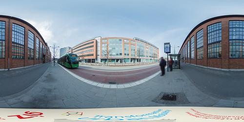 Sweden: BRT Stop in Malmö   by SUTP