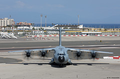 Royal Air Force Airbus Military A400M Atlas C1 ZM408 at RAF Gibraltar