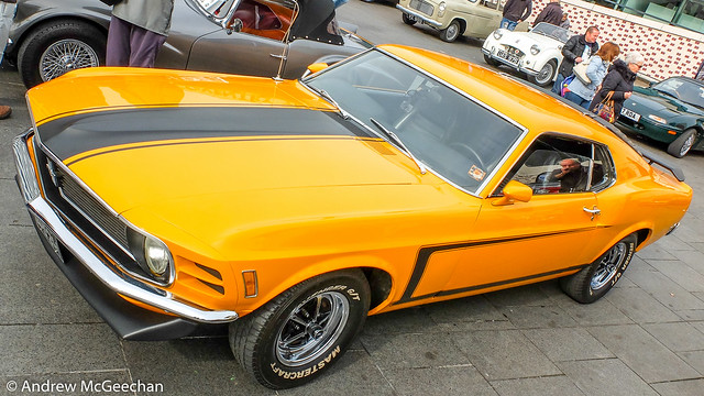 1970 Ford Mustang Boss 302 Fastback Hardtop Coupe