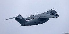Royal Air Force Airbus Military A400M Atlas C1 ZM412 departing RAF Gibraltar
