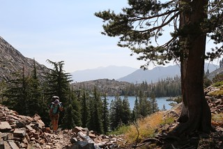 2901 The Pacific Crest Trail climbs up above Heather Lake and it's getting warm in the sun | by _JFR_