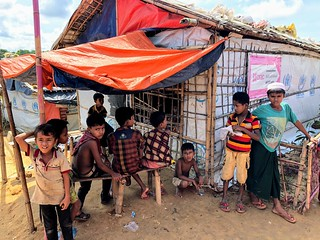 Kids at Rohingya Camps in Cox's Bazar | by Mohammad Tauheed