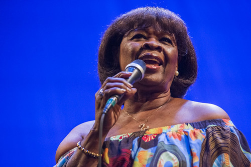 Irma Thomas at the WWOZ Groove Gala on September 6, 2018. Photo by Ryan Hodgson-Rigsbee www.rhrPhoto.com