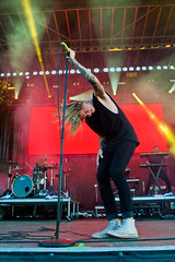 Underoath en Riot Fest Chicago 2018