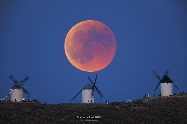 Eclipse luna 2018
